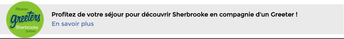 Réseau Greeters Sherbrooke, Québec