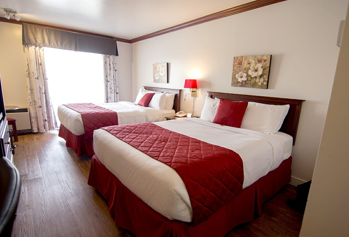 Chambre confort u2013 2 lits queen hôtel le floral