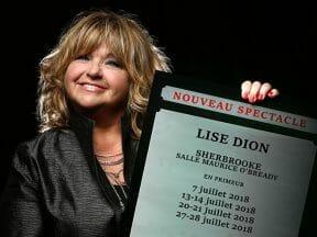 Lise Dion à Sherbrooke en 2018 : Forfait spectacle