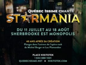 Starmania in Sherbrooke in 2019: Show package